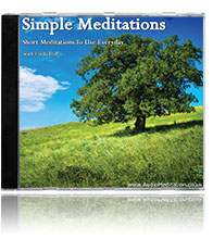Simple Meditation CD | Daily Meditations CD & MP3